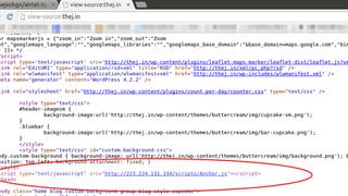 Mobiloperatør injiserer JavaScript når brukerne surfer