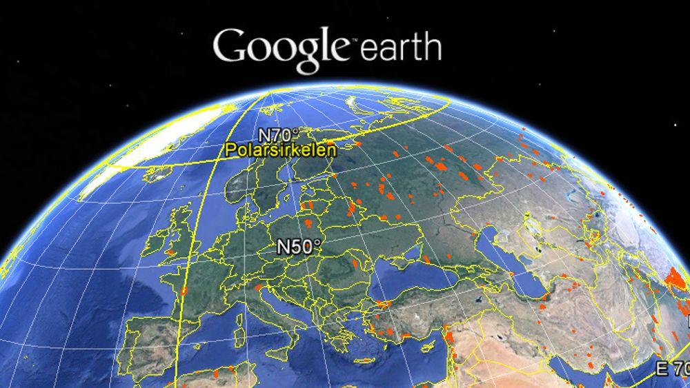 Det er denne uken ti år siden den første utgaven av Google Earth ble gjort tilgjengelig.