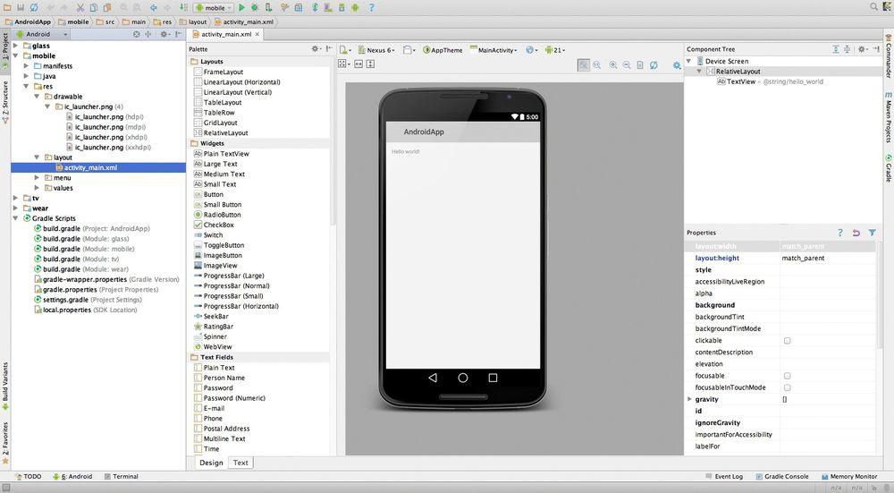 Android Studio har blitt gjort til offisielt IDE for Android-utvikling. Derfor legger Google snart ned støtten for Android Developer Tools i Eclipse.