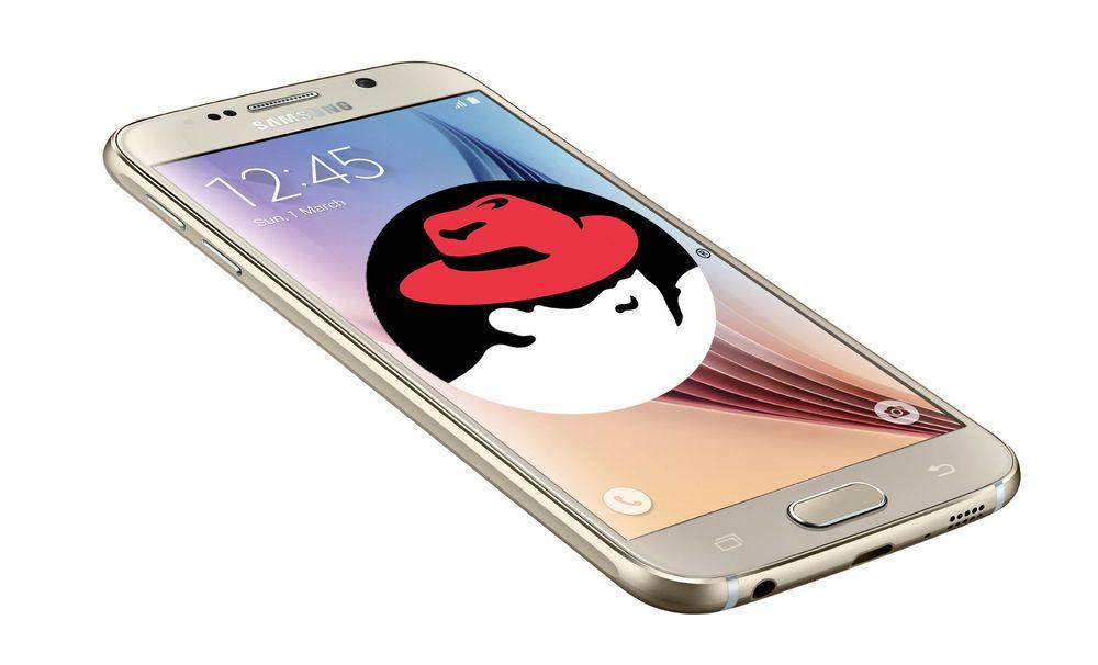 Red Hat skal levere bransjerettede mobilapplikasjoner og -tjenester i samarbeid med Samsung.