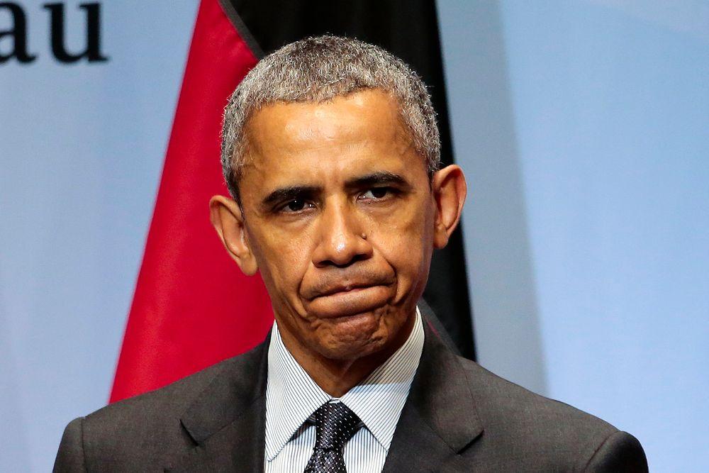 BEKYMRET: USAs president Barack Obama vil ruste opp landets datasystemer etter en rekke oppsiktsvekkende datainnbrudd. Her avbildet under G7-samlingen nær Garmisch-Partenkirchen sør i Tyskland mandag.