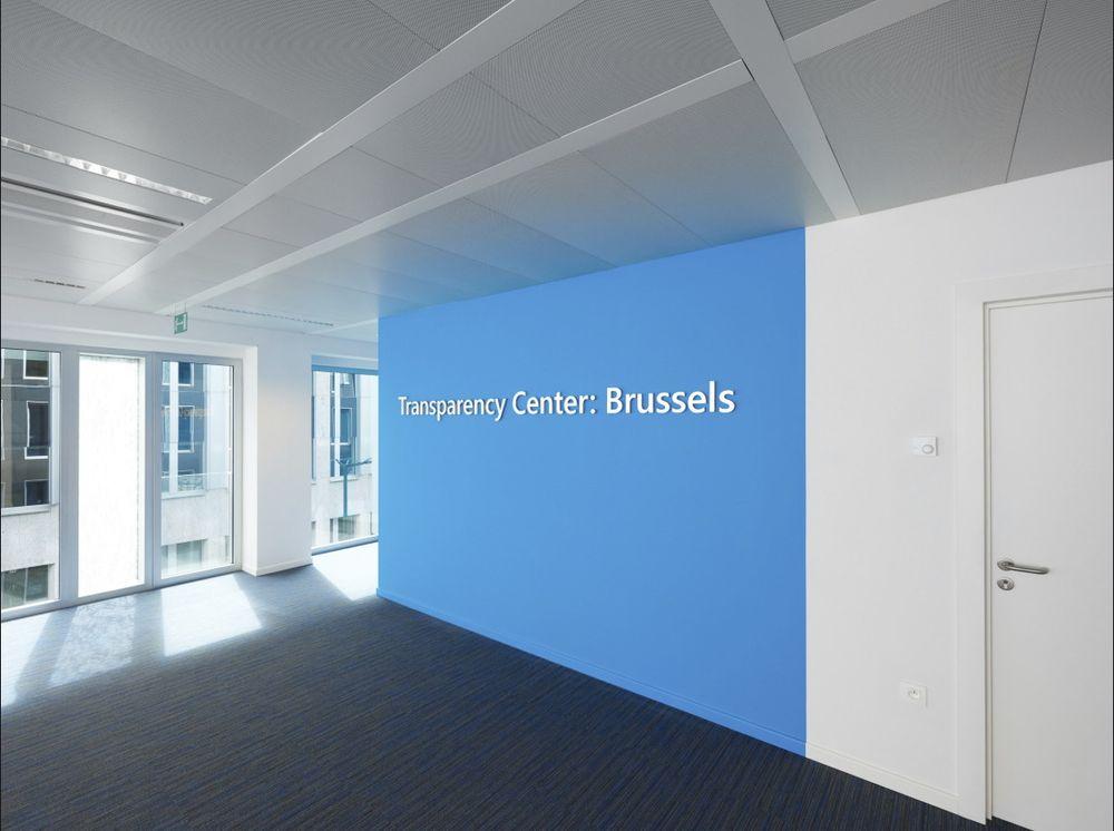 Et senter lokalisert i Brussel skal gi myndigheter tilgang til Microsofts kildekode i tillegg til annen sikkerhetsinformasjon.