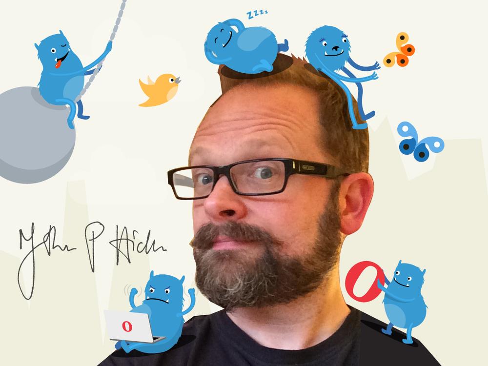 Jon Hicks er ekspert på ikoner og grafisk design.