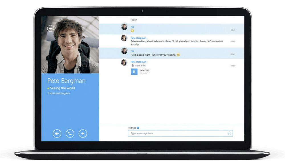 Modern UI-utgaven av Skype skal legges ned, til fordel for desktop-utgaven. Men Skype-støtte skal snart bygges inn i tre ulike apper som følger med Windows 10 til enheter i de fleste størrelser.