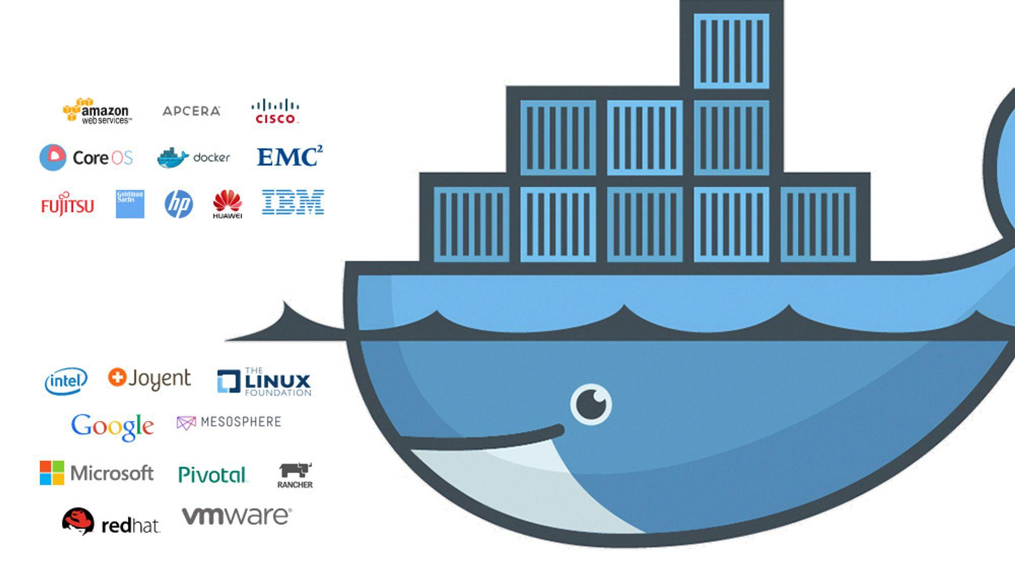 Docker-teknologien danner utgangspunktet for standardene som skal utarbeides av Open Container Project.