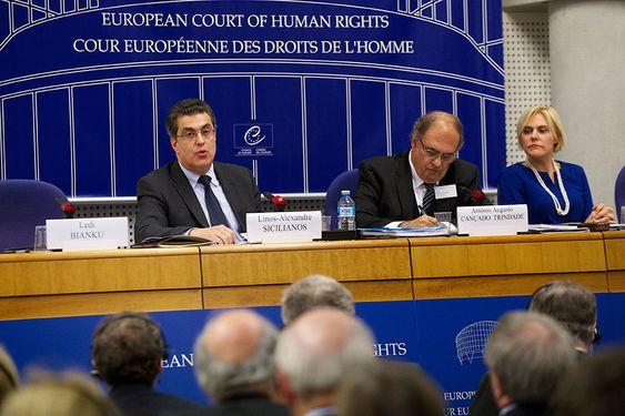 Den europeiske menneskerettighetsdomstolen - åpning av det juridiske året 2014.