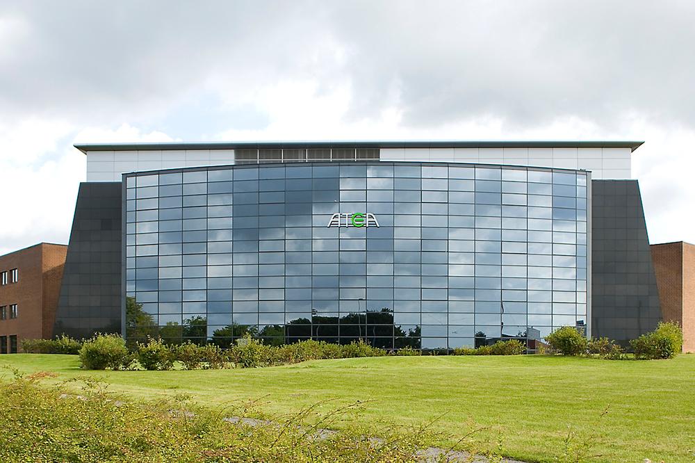 Ateas danske hovedkvarter i Ballerup.