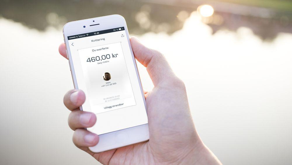 Bankene sitter på store mengder data om sin kunder, noe de kan bruke til å lage helt nye tjenester. Bildet er av Danske Banks mobilbetaling Mobile Pay.