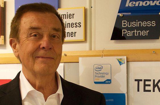 Harald Marthinussen, sivilingeniør, oppfinner av Personal Connection Unit, PCU.