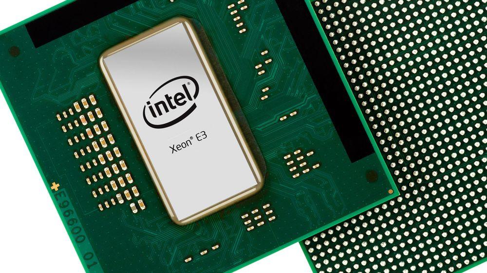 Intel Xeon E3-montasje