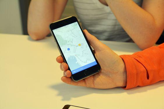 Appen bruker kartdata fra Mapbox, mens resten er i hovedsak egenutviklet.
