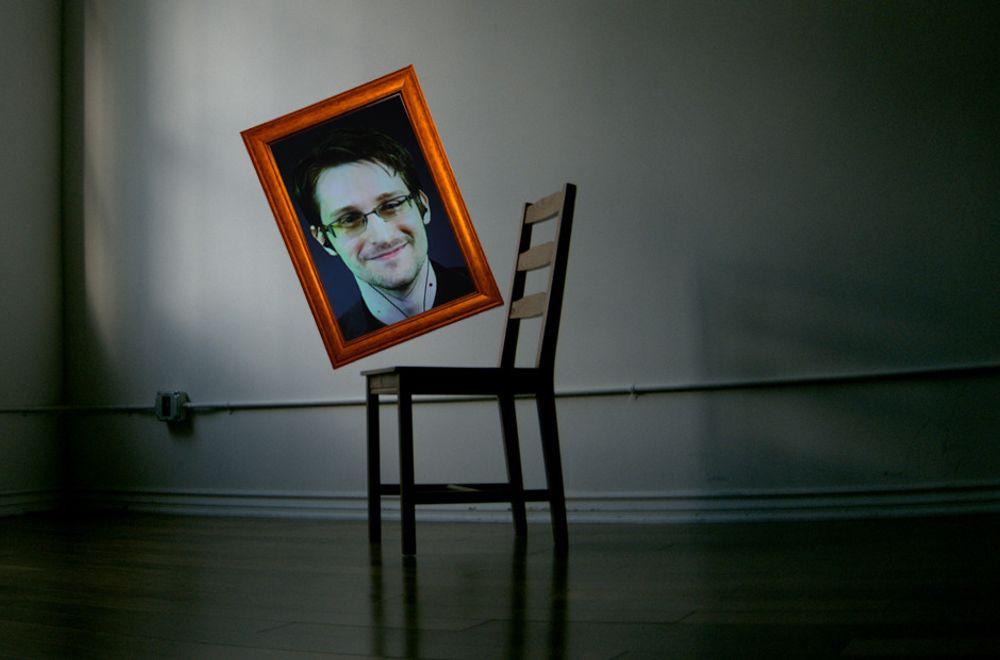 Bjørnsonprisen til den amerikanske spionvarsleren kommer til å bli overrakt en tom stol. (Fotofikling digi.no)