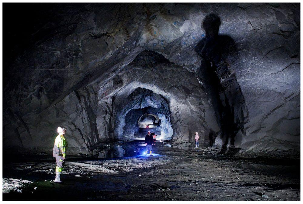 Lefdal Mine Datacenter tar utgangspunkt i avvirkede olivingruverganger i Eid i Sogn og Fjordane.