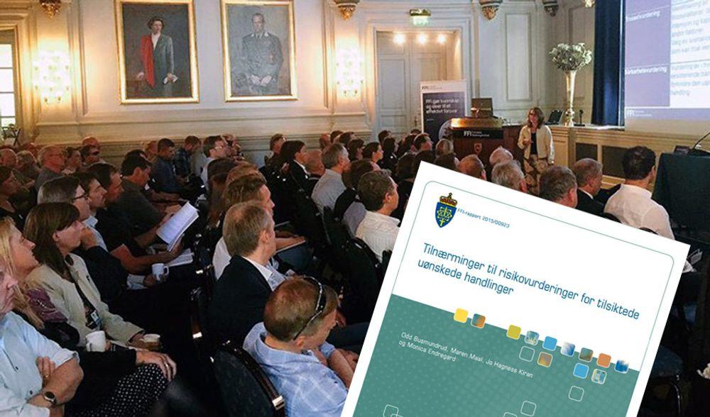 FFIs rapport om risiko- og sårbarhetsanalyser har vekket debatt i fagmiljøet. (Foto: FFI, montasje: digi.no)