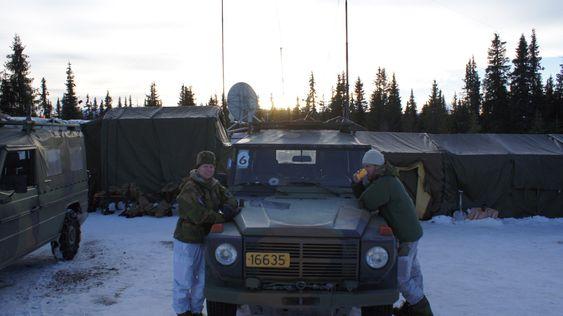 Vestfjellet øvelse 2015, Lillehammer