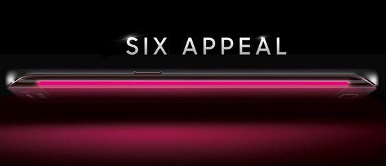 Amerikanske T-Mobile la ut dette bildet av Samsungs neste store. Det gir altså et ganske tydelig hint om hvordan Galaxy S6 vil se ut.