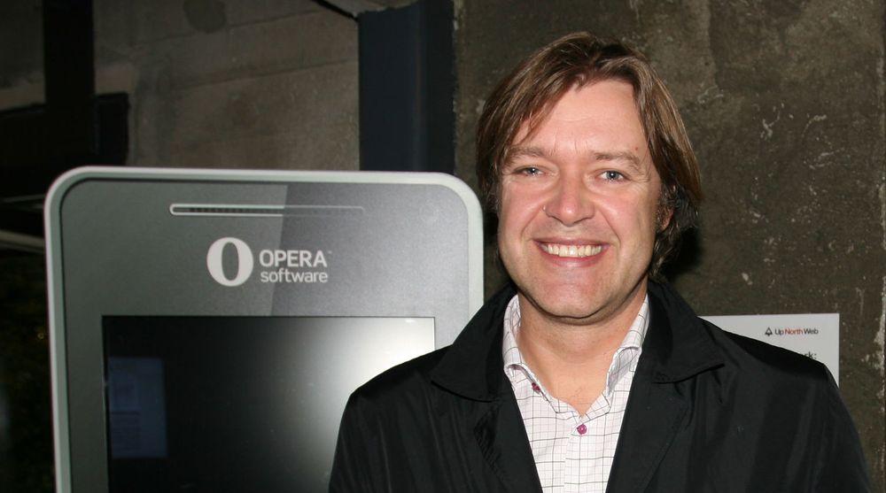 Lars Boilesen, toppsjef i Opera Software, presenterte i dag selskapets resultater for fjerde kvartal i 2014. Selskapet økte omsetningen med 72 prosent, sammenlignet med samme kvartal i 2013.