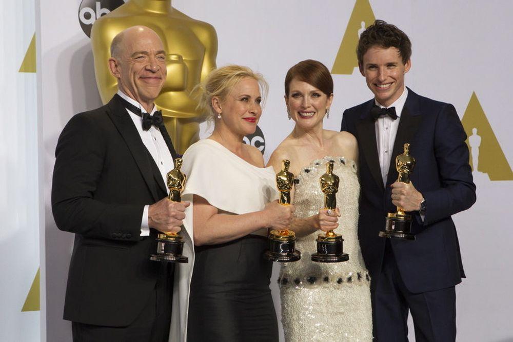 Noen av årets Oscar-vinnere, alle disse regnet Microsoft seg frem til korrekt.