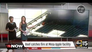 Brann i Apples kjempeanlegg slukket