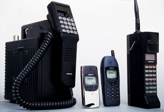 De nye modellene har kodenavn basert på klassiske Nokia-telefoner. Talkman helt til venstre, Cityman helt til høyre.