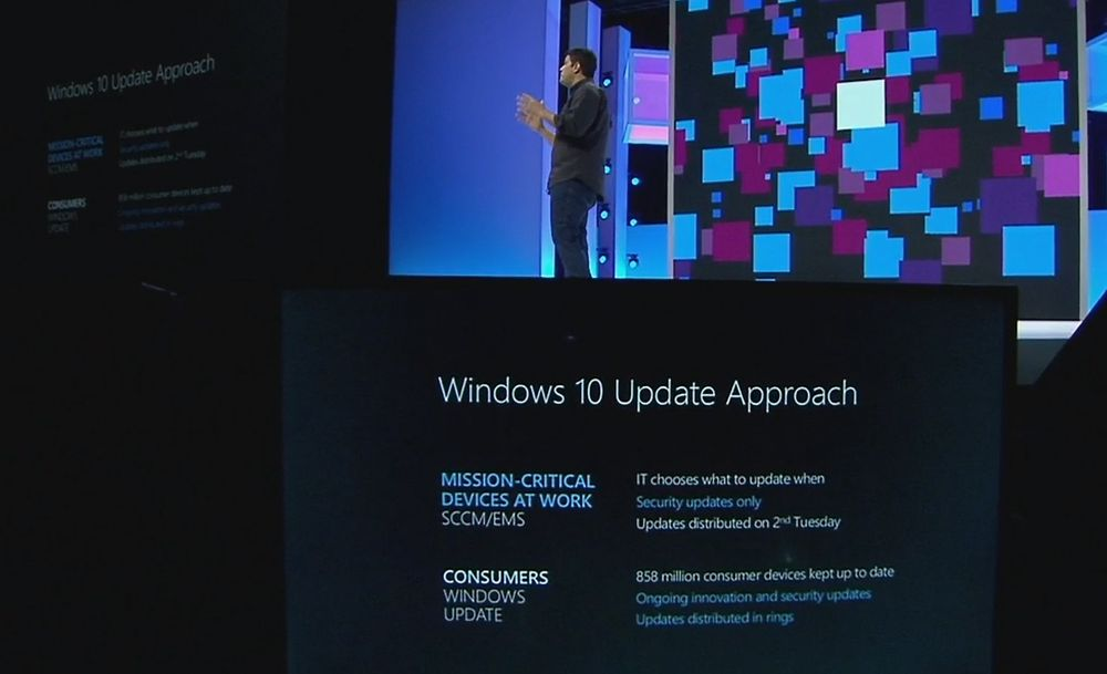 Windows-sjef Terry Myerson avduket Windows Update for Business i går.
