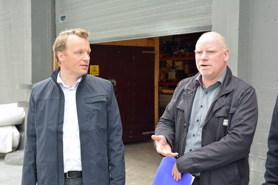 Teknisk direktør Jon Christian Hillestad og dekningsdirektør Tommy S. Johansen lover 4G hos så godt som hele befolkningen innen utgangen av 2016. Tallet per i dag er 86 prosent.