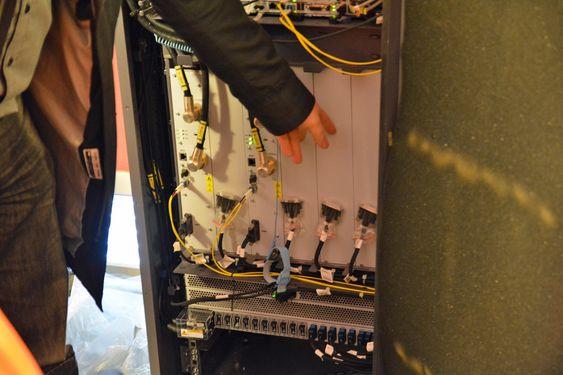 Basestasjonen har god plass til fremtidige oppgraderinger, for eksempel LTE-A.