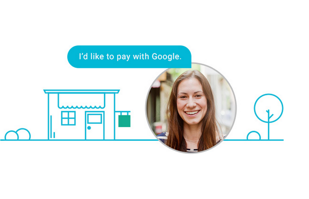 Man skal bare trenge å si at man vil betale med Google, så blir transaksjonen ordnet.
