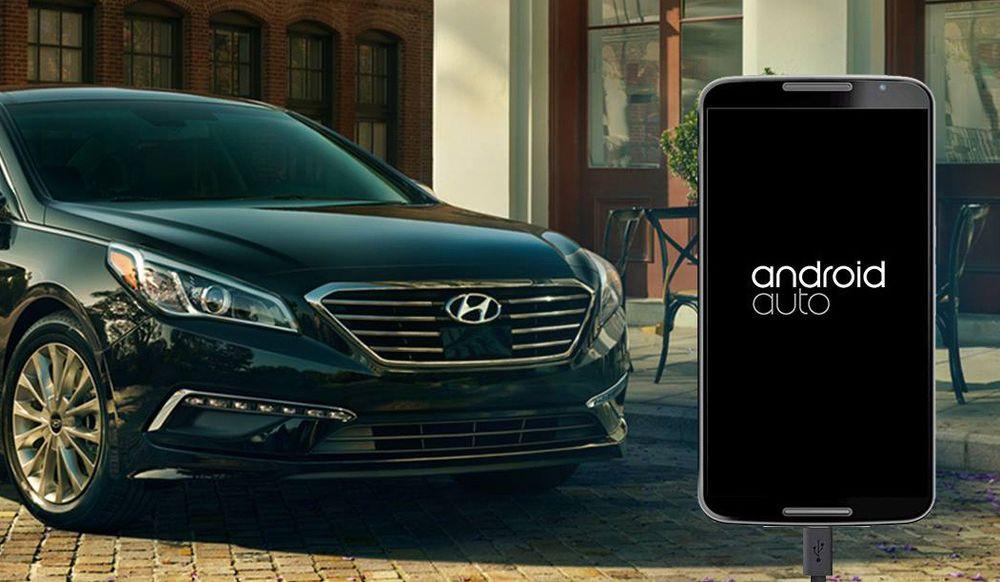Hyundai i USA er først i verden med å levere biler utstyrt med Android Auto.