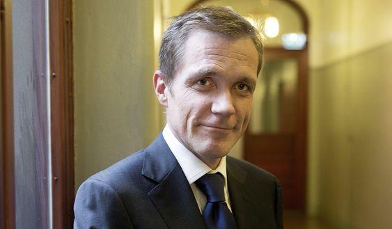 Statssekretær Paal Bjørnestad, Finansdepartementet