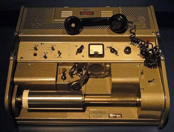 Faksmaskin fra 1960-tallet