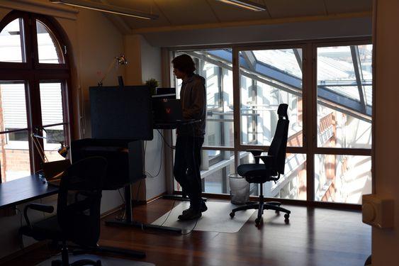 Da digi.no besøkte Vivaldi var det relativt tomt, men selskapet er nå over 20 personer, og blant annet flere tidligere Opera-ansatte er på vei inn.