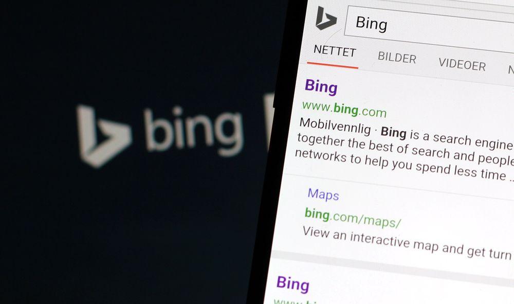Microsoft har i Bing begynt å bruke mobilvennlighet som en faktor for rangeringen av søkeresultater. Resultater som anses som mobilvennlige, blir dessuten merket med dette.