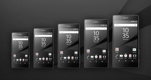 Xperia Z6 Mini, Z6 Compact, Z6, Z6 Plus og Z6 Ultra