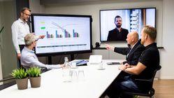 Endelig: møterommene blir trådløse