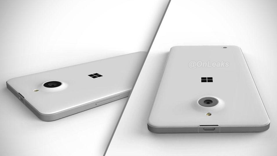 Lumia 850 ser ut til å bli en slank og stilren skapning, hvis den blir slik ryktene vil ha det til.