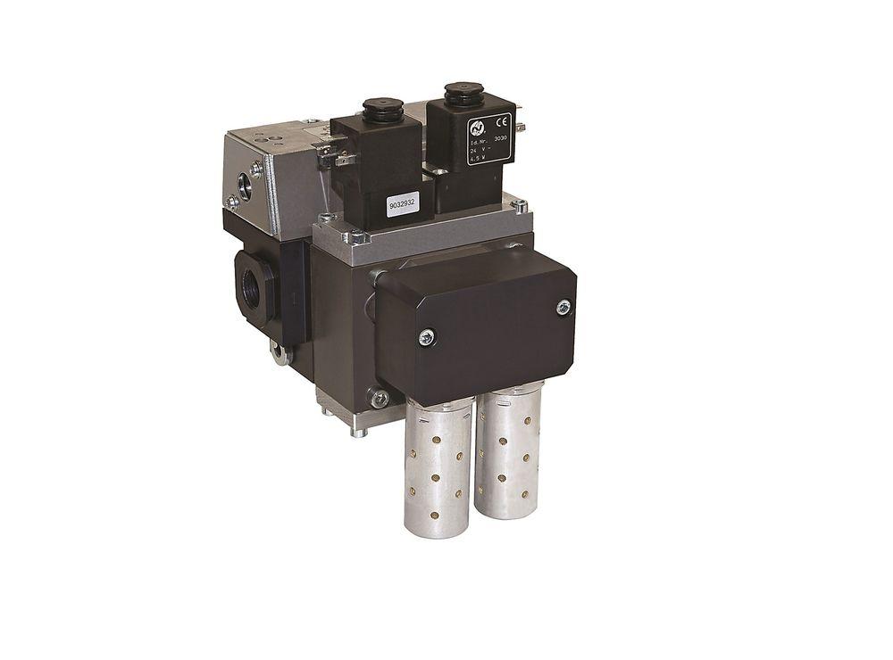 SCSQ er et en ventil med variabel soft start funksjon til applikasjoner som krever en kontrollert gjenstart av lufttilførselen. Ventilen er pneumatisk overvåket og krever ingen ytterligere elektronikk. Leveres av IMI Precision Engineering.