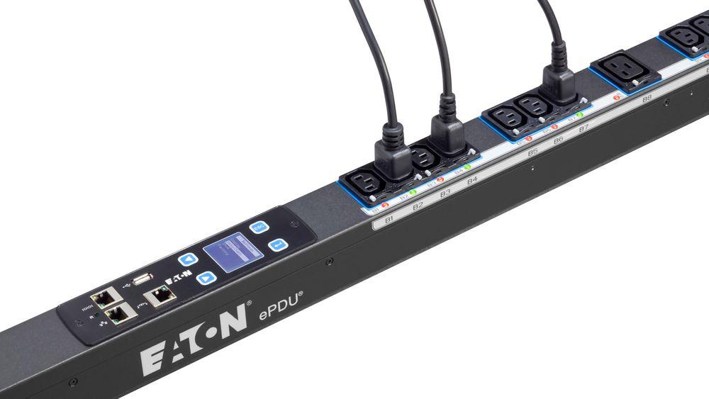 PDU-enhet eller strømstyring, fra Eaton.