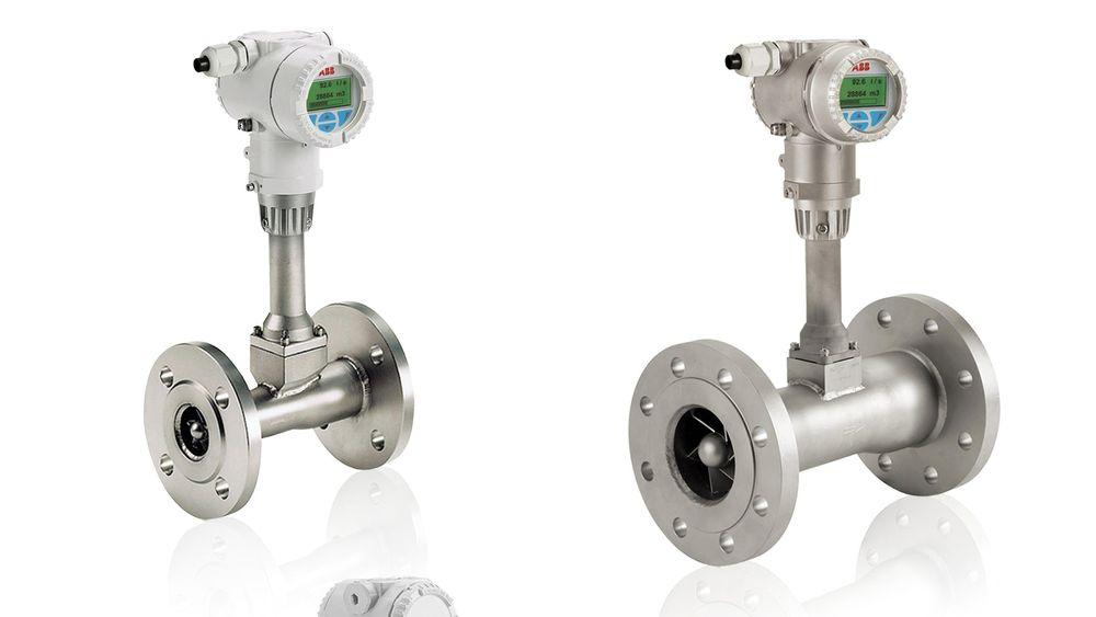 ABB mengdemåler med mulighet for direkte masse- og energimåling. SWIRLMaster FSS-familien