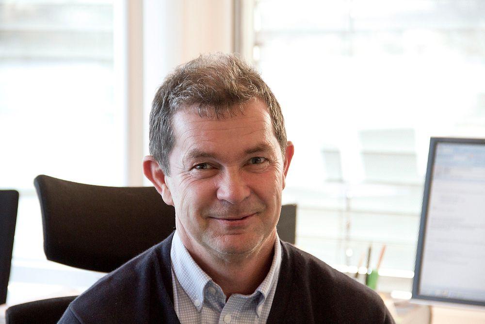 Asgeir Knutsen, administrerende direktør i  Emerson Norge, vil bli langt mer enn en leverandør av komponenter. De skal doble ordreinngangen.