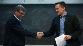 Forskningsavtale mellom FFI og NTNU
