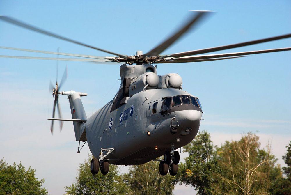 Foreløig har Russian Helicopters laget kun den ene prototypen av Mi-26T2. Nå er det klart for serieproduksjon av det moderniserte kjempehelikopteret.