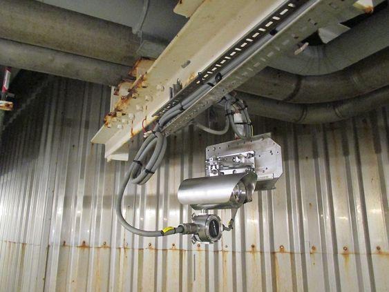 ELDS detektor produsert av Senscient. på produksjonsskip på Terra Nova feltet utenfor Canada