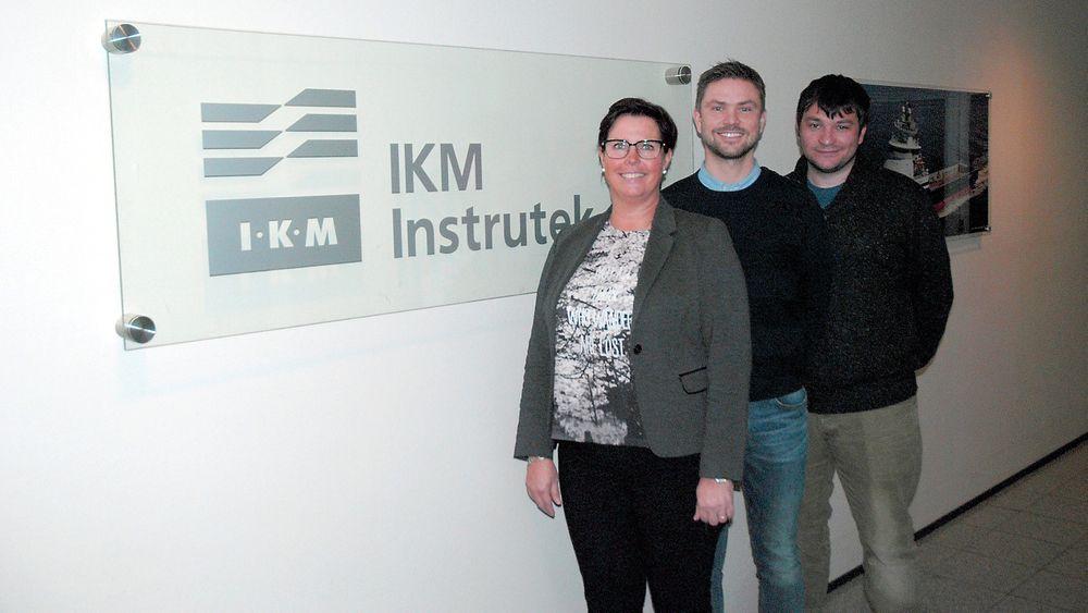 Fra venstre Monika H. Arnesdatter, Eivind Fiskerstrand og Matthew Gill.