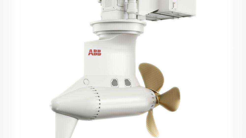 Nye Azipod D thruster fra ABB kan kutte drivstofforbruket inntil 25 prosent og er spesielt godt egnet for offshore-fartøyer og ferger.