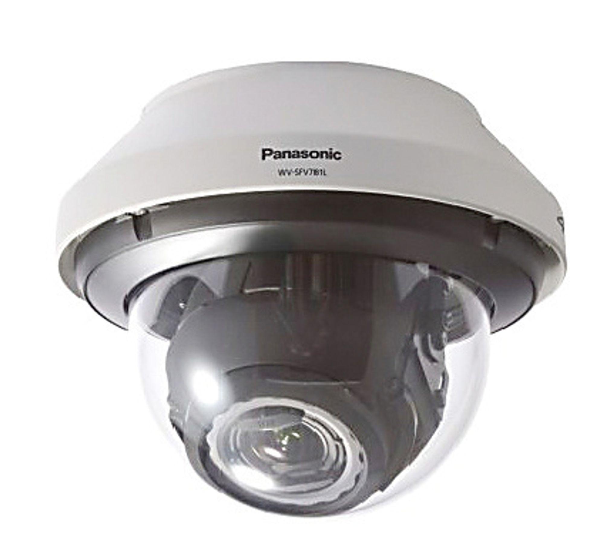 WV-SFV781L overvåkingskamera fra Panasonic.