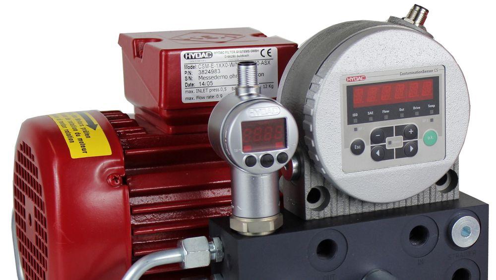 Hydac hydraulikk og prosessteknikk viser et nytt kompakt og økonomisk online overvåkningssystem, CSM Economy.