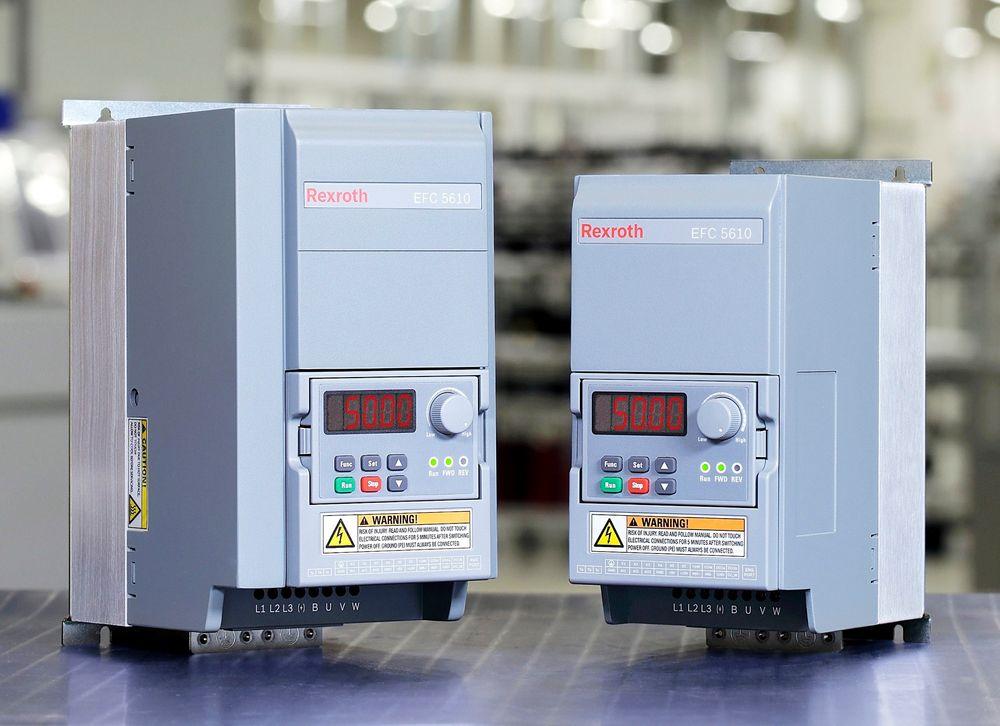 Frekvensomformere, EFC 3610 og EFC 5610 fra Bosch Rexroth