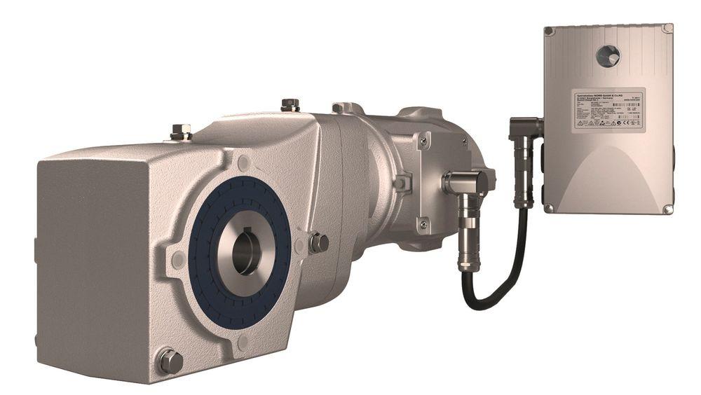 Nord Drivesystems med NSD tupH behandling som gjør aluminium motstandsdyktig mot korrosjon og andre skader.