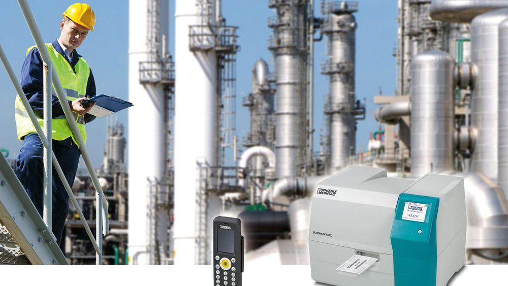 Merkesystem for kraftverk, med RFID